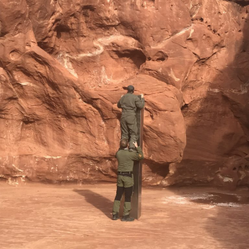 Utah: Monolith Discovered By Wildlife Researchers