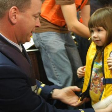 Coast Guard Urges Safe Boating with Children