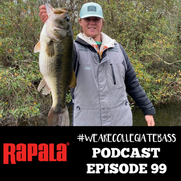 Now on Rapala #WeAreCollegiate Bass Podcast