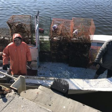 Crab Pot Recovery on N.C. Coast