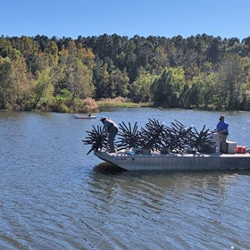 New Fish Attractors for Lake Piney Z