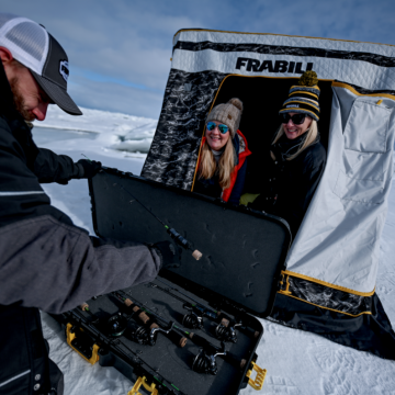 Frabill's Top 5 Ice Fishing Tips