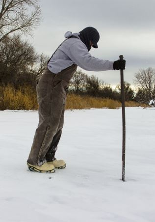 Ice Fishing Safety Begins with Ice Thickness