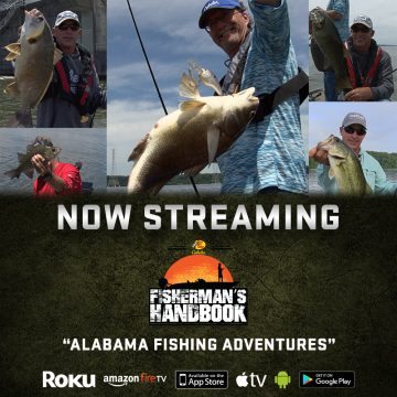 Now on Outdoor Action TV: Alabama Angling