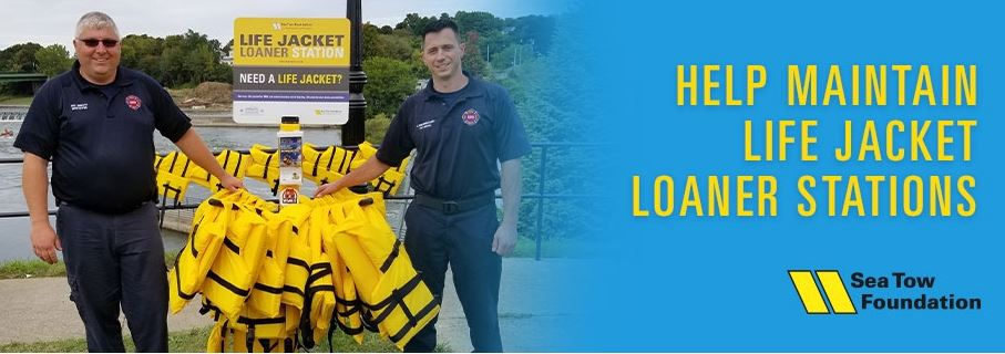 Sea Tow Foundation Offers Life Jacket Loaner Stations