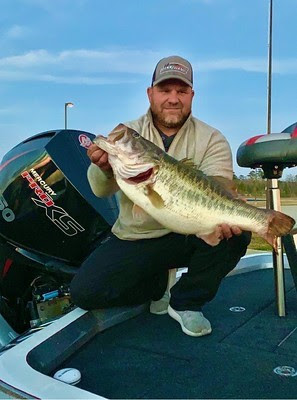 1st Legacy Class Largemouth of 2021 Caught at Sam Rayburn