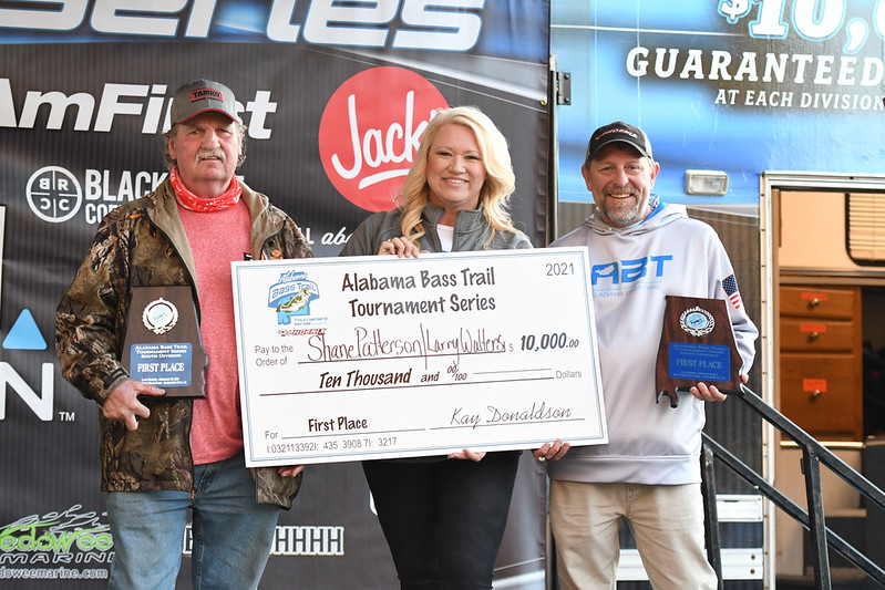 Walters and Patterson Win Alabama Bass Trail Event at Lake Martin