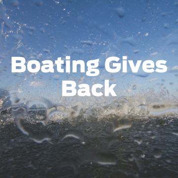 """NMMA Seeks Stories for """"Boating Gives Back"""" Series"""