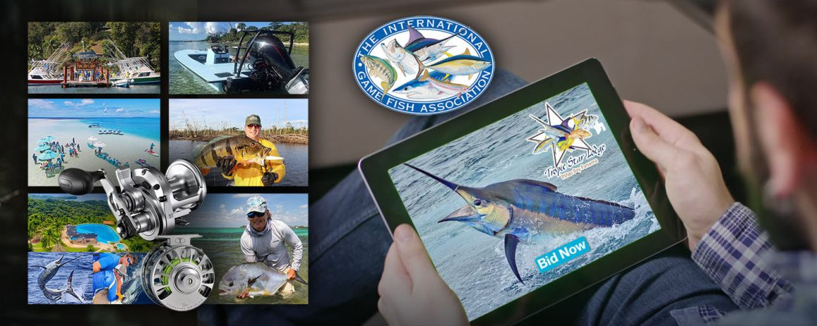 IGFA Auction/Fundraiser This Weekend Online