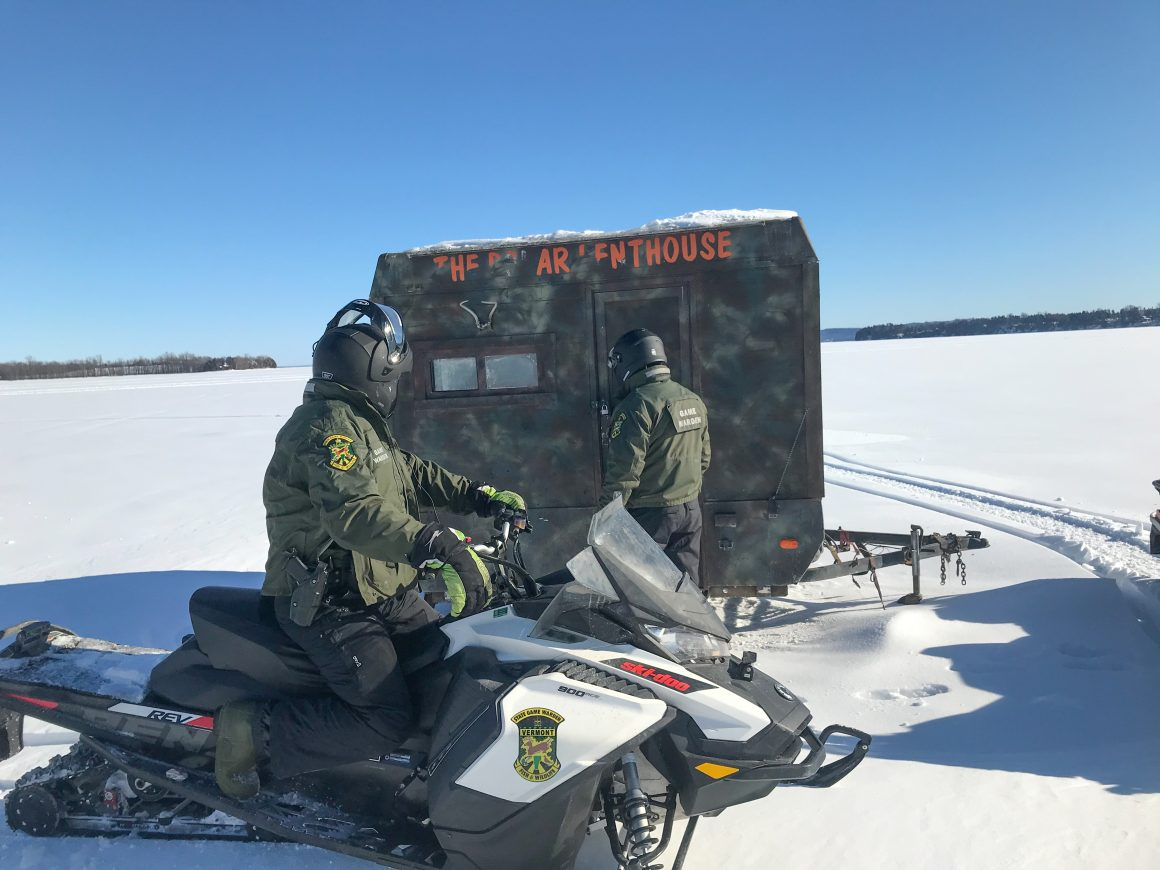 Vermont Ice Anglers Must Removed Shanties by March 28