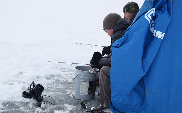 Ice Fishers Encouraged to Keep Safety in Mind