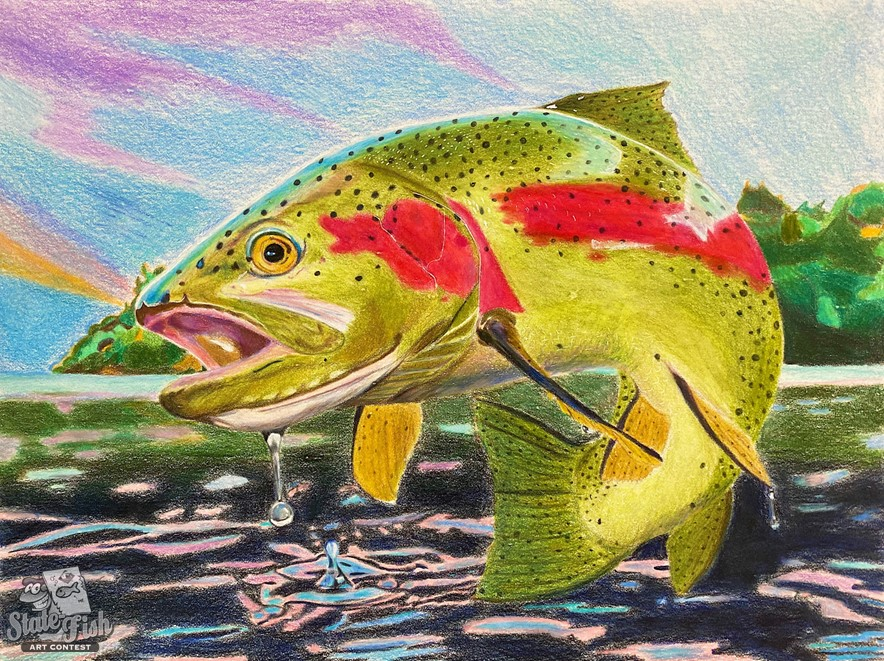 Fish Art Contest Casting For Entries