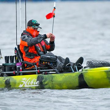 Hobie B.O.S. Kayak Series Visits Watts Bar Lake