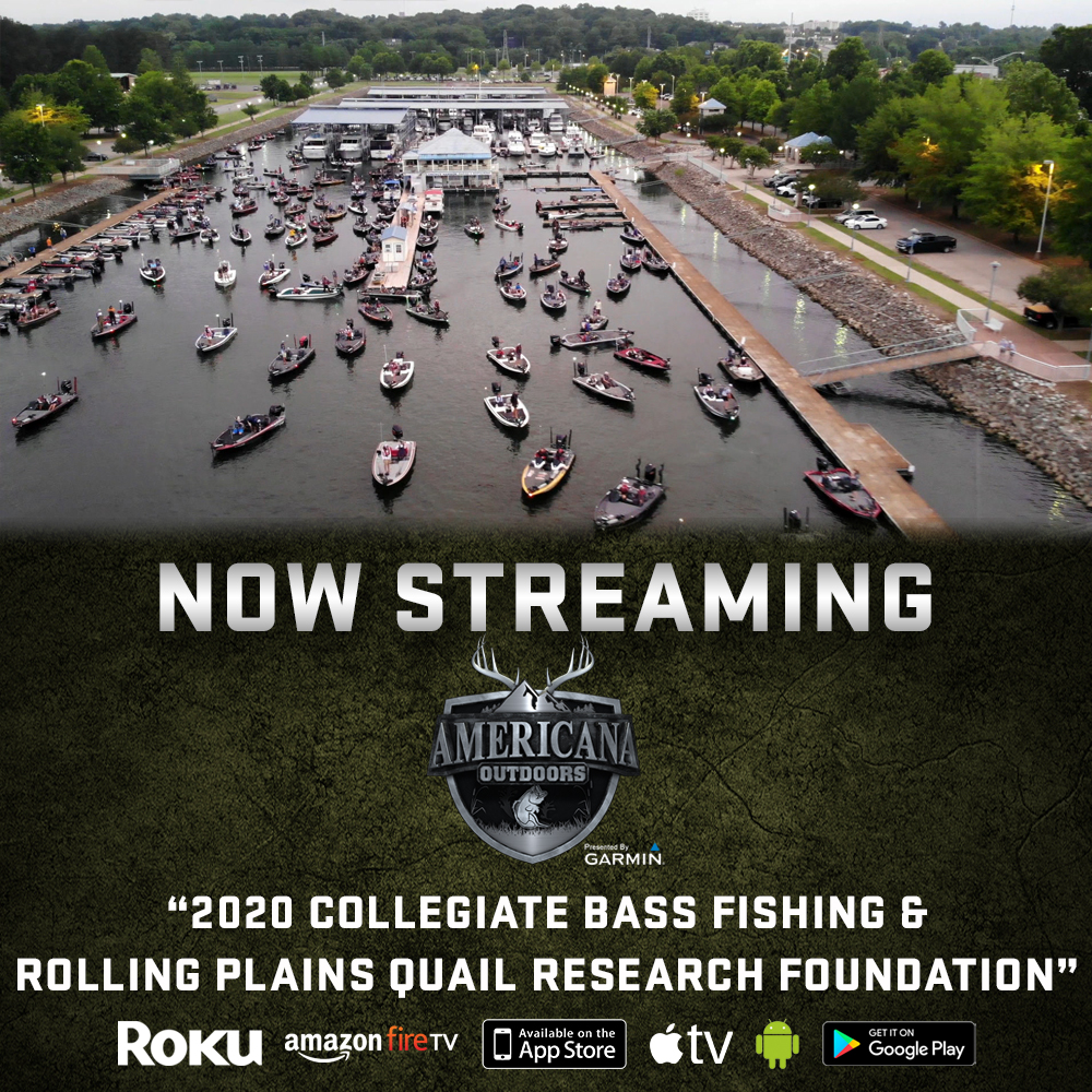 Collegiate Bass Fishing & Quail Conservation on Americana Outdoors