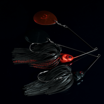 BOOYAH Covert Spinnerbait Great for Night-fishing