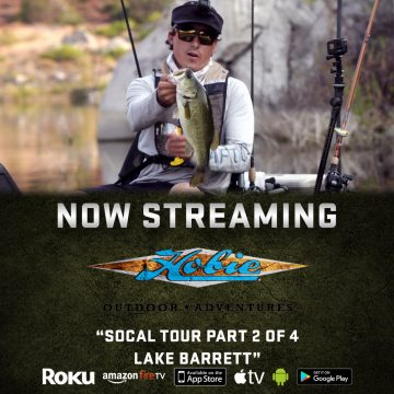 Outdoor Action TV: Lake Barrett on Hobie Outdoors