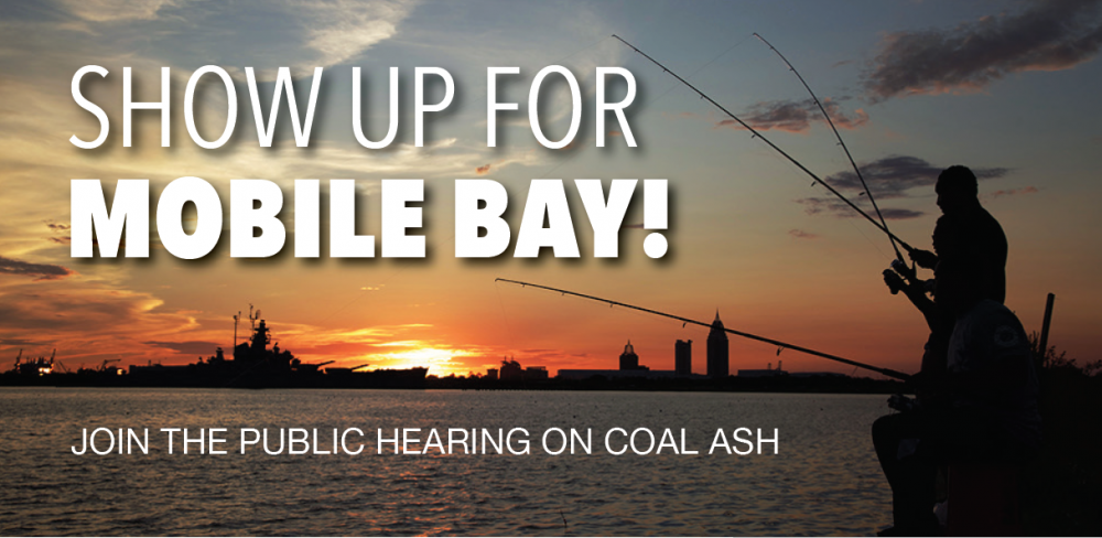 Mobile Bay Coal Ash Hearing March 30 in Saraland