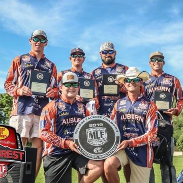 Auburn University Fishing Team Reinstated