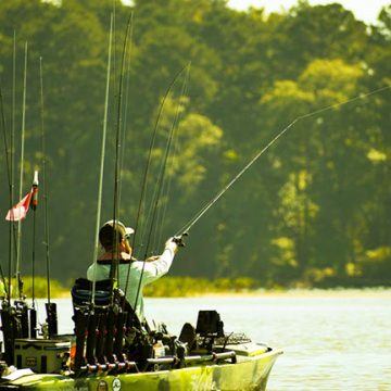 Kayak Bass Anglers Headed to Lake Dardanelle