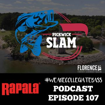 This Week on Rapala #WeAreCollegiateBass Podcasts