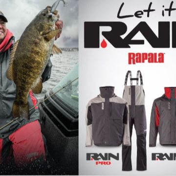 New Rapala Outerwear Keeps Anglers Dry and Comfortable