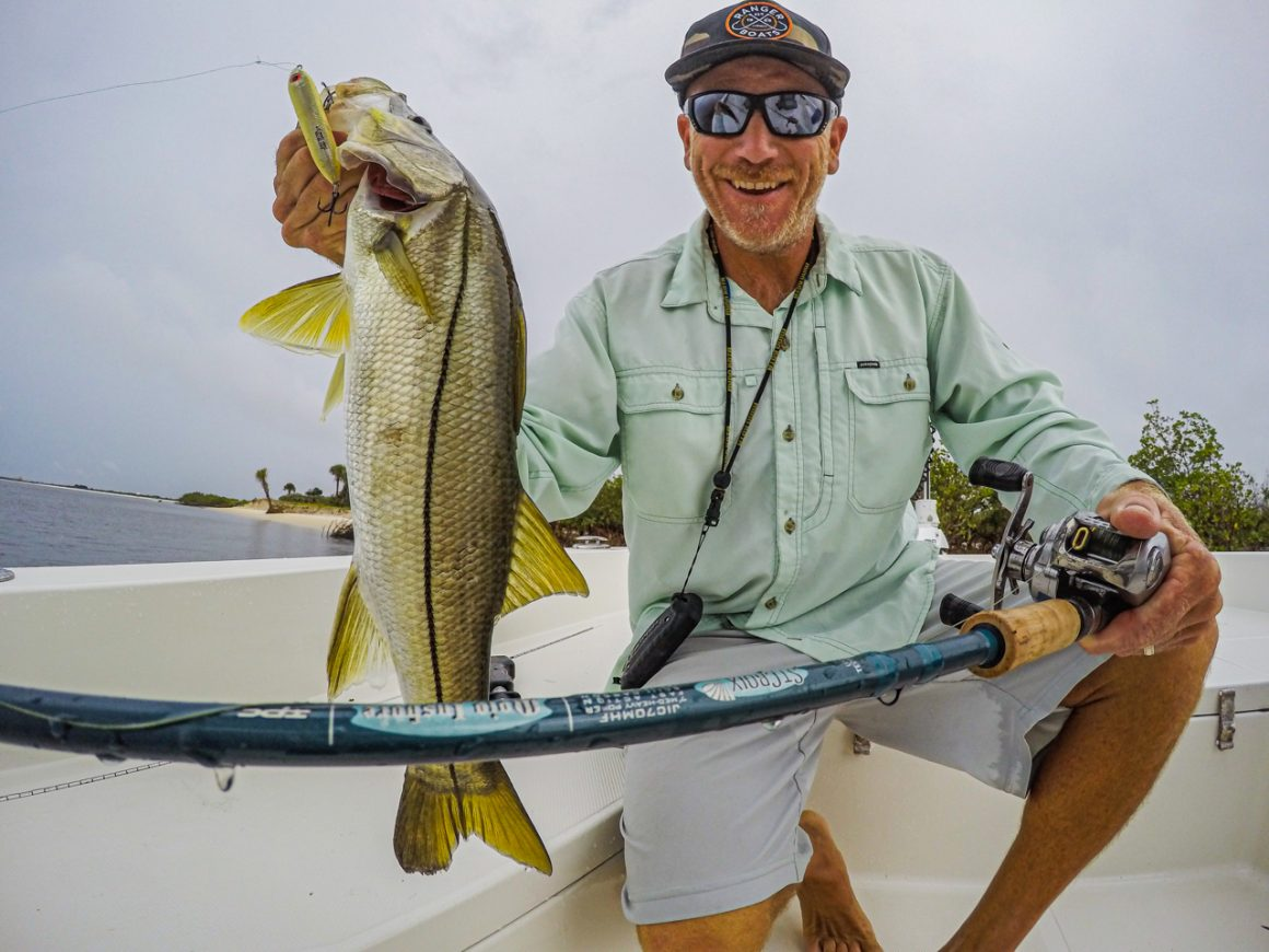 Spring Saltwater Action with St. Croix Rod
