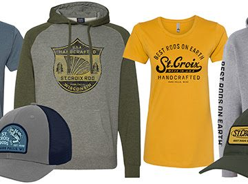 St. Croix Fashion Fits Your Fishing Lifestyle