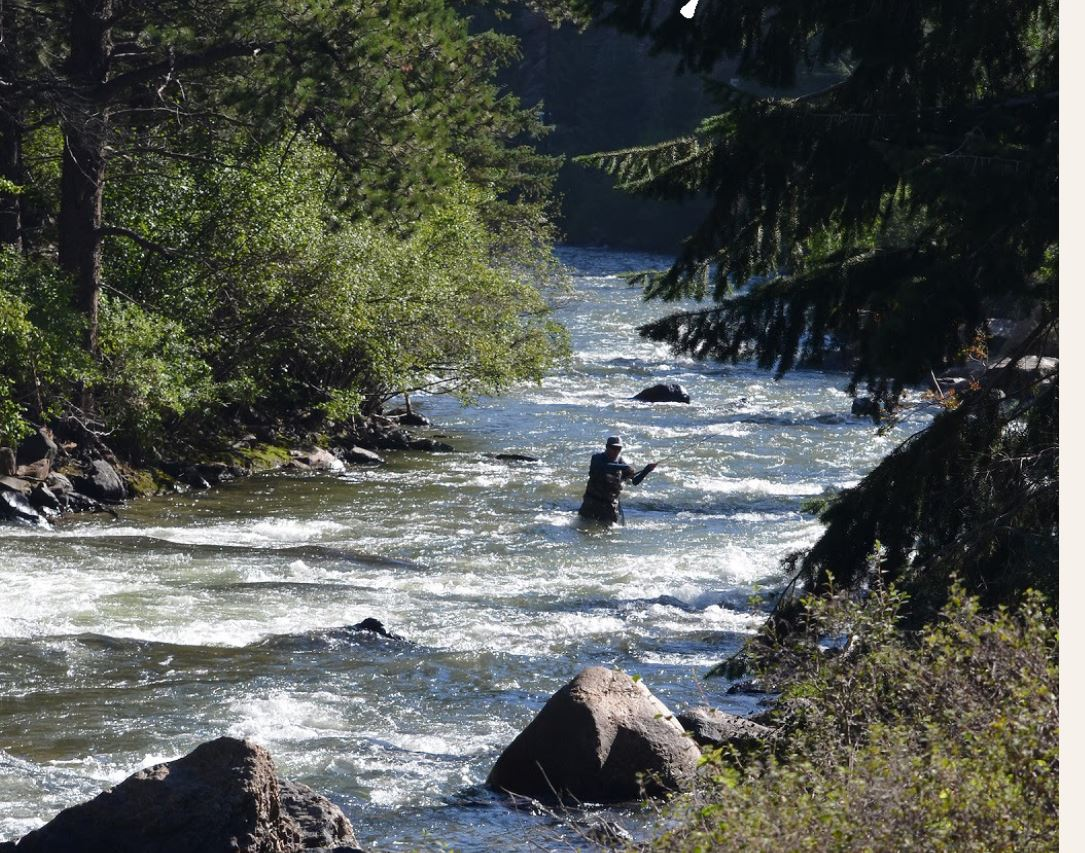 Colorado's Dolores River Tailwater Affected by Low Flows