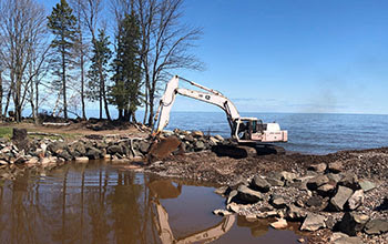 Oman Creek Access on Lake Superior Now Open