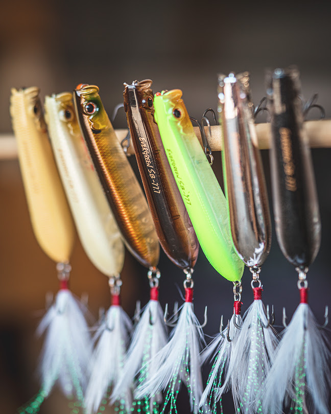 Daiwa Showerblow Topwater Now in Smaller Size, New Colors