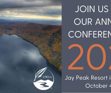 OWAA Conference Oct. 4-6 in Vermont
