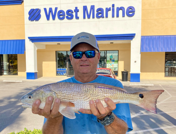 CCA-Tagged Florida Redfish Wins $80,000 Boat/Motor Package