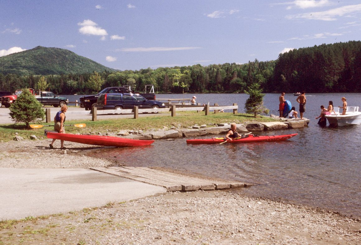 No Swimming in Vermont Fishing Access Areas