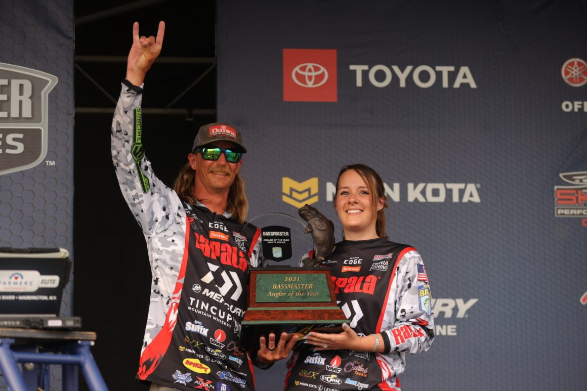 Feider Secures Bassmaster Angler Of The Year Title