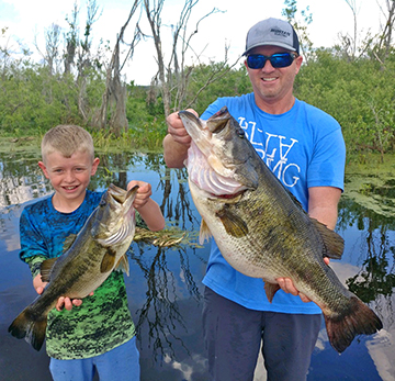 How Florida's Biggest Bass Were Caught
