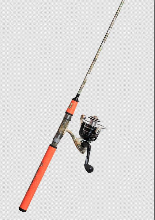 ProFISHiency Realtree Spinning Combo Dressed for Fishing