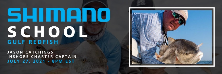 Shimano School Heads Inshore with Capt. Jason Catchings