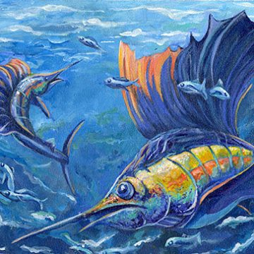 State Fish Art Contest in Texas