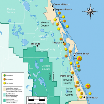 Florida's Indian River Lagoon Gets Improvement Projects