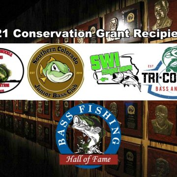 Bass Fishing Hall of Fame Makes Four Conservation Grants
