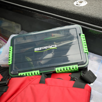 SPRO's Tackle Box Lineup Makes Storage Easy, Safe and Secure