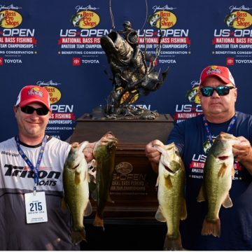 North Carolina Team Collects $50,000 First-Place Check at Bass Pro Shops US Open Regional