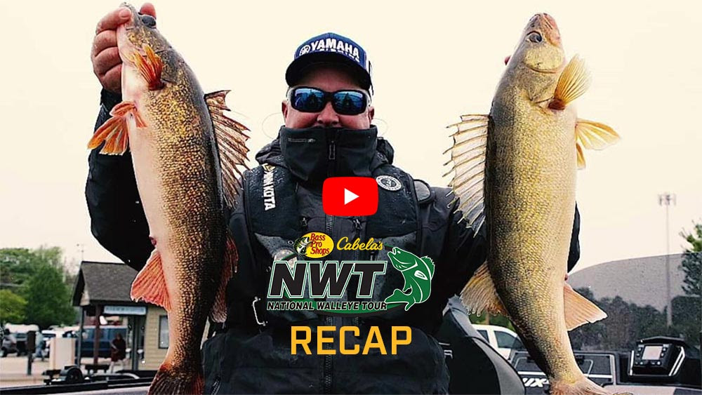 Courts Closing in on Second National Walleye Tour Angler of the Year Title