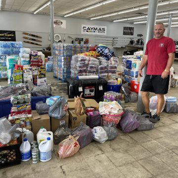 Bassmaster Pros Helping With Hurricane Relief