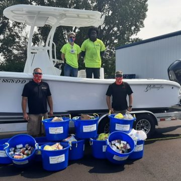 """Mercury Marine Employees """"Fill the Boat to Cast Out Hunger"""""""