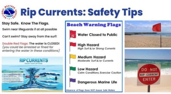 Coast Guard Cautions Surf Anglers, Swimmers on Rip Currents Along Gulf Coast