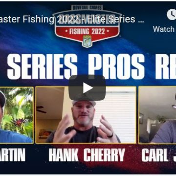 Elite Series Anglers Share How To Reel In A Win In Bassmaster Fishing 2022